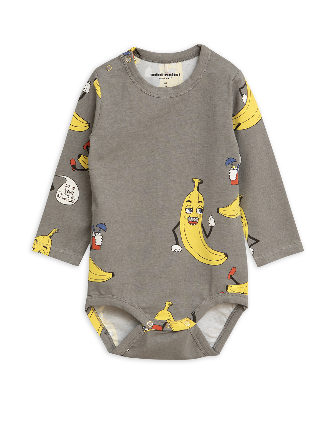 f95d22be096 Grey Bananas Printed Jumpsuit By Mini Rodini