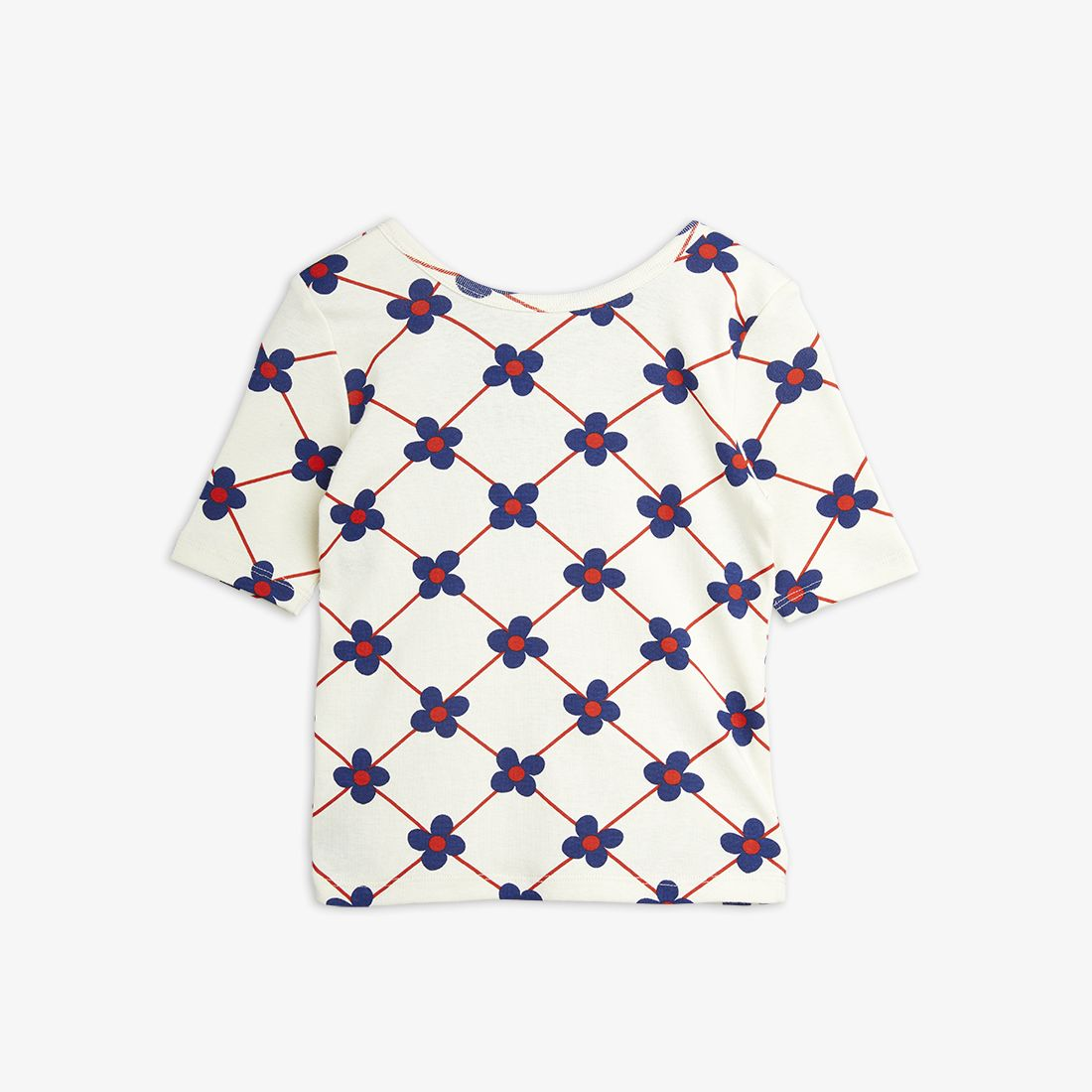 Flower Check Top