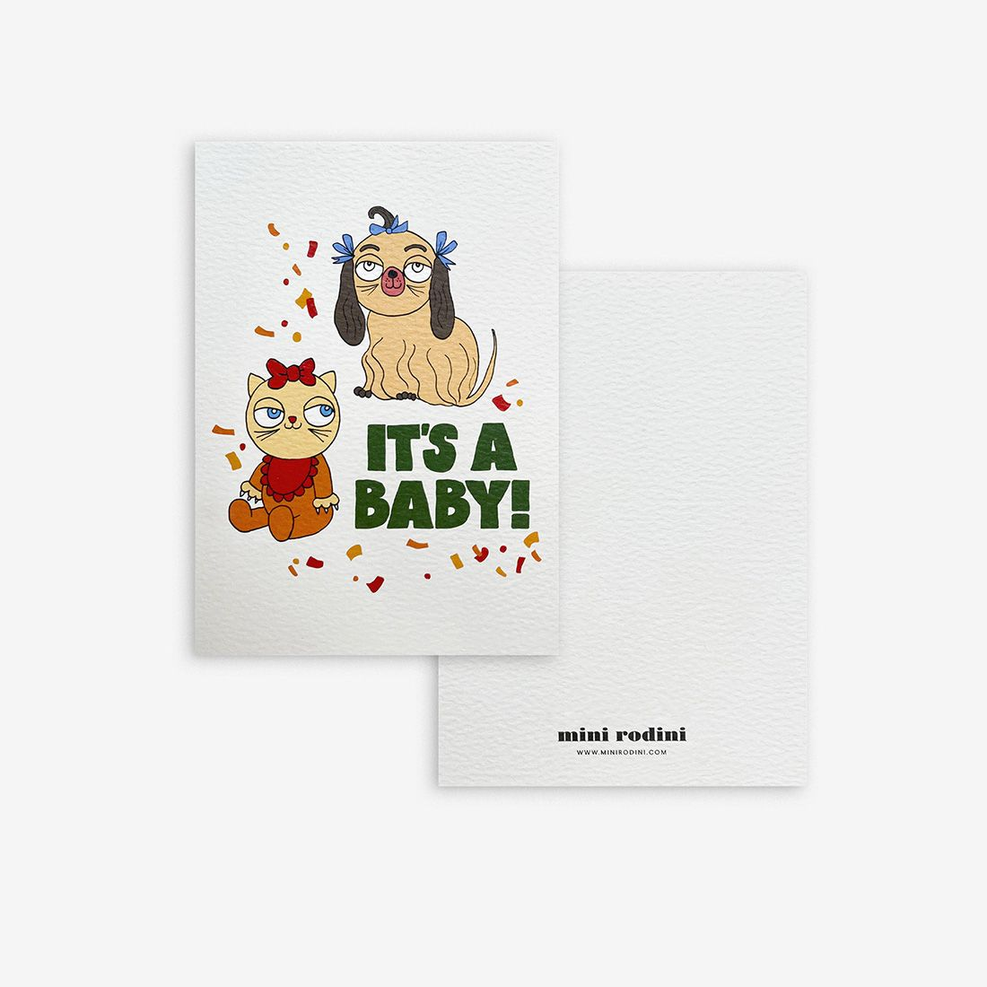 Its A Baby Greeting Card